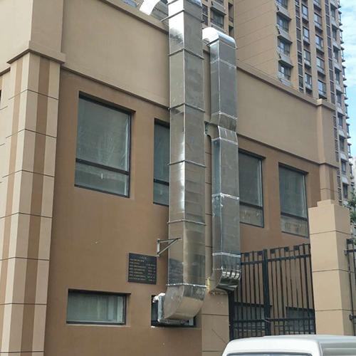 酒店排烟管道工程