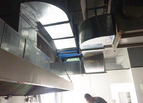 东营酒店厨房排烟罩